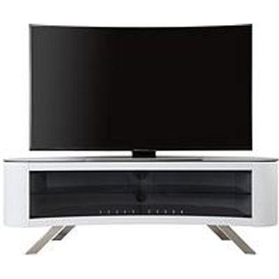 Avf Bay Affinity 1500 Tv Stand - White - Fits Up To 70 Inch