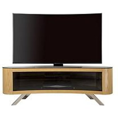 Avf Bay Affinity 1500 Tv Stand - Oak/Black - Fits Up To 70 Inch