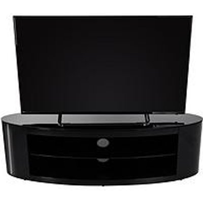 Avf Buckingham Affinity 1400 Oval Tv Stand - Black - Fits Up To 65 Inch Tv