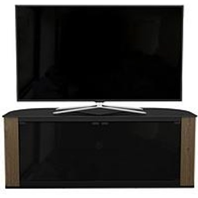 Avf Gallery 1200 Corner Tv Stand - Rustic Oak - Fits Up To 60 Inch Tv