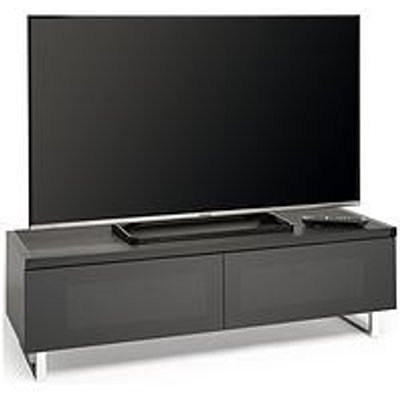 Avf Panorama 120 Tv Stand - Walnut/Black - Fits Up To 60 Inch Tv