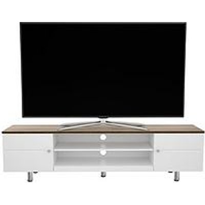 Avf Whitesands Brooke 1900 Tv Stand - White - Fits Up To 85 Inch