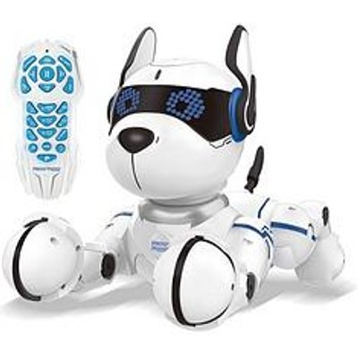 Lexibook Power Puppy &Ndash; My Smart Robotic Dog With Programming Function, Dance, Walk, Movements, Touch Sensors And Animal Imitation, Incl. Remote Control