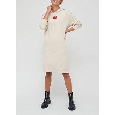 Hugo Red Label Hoodie Dress - Beige