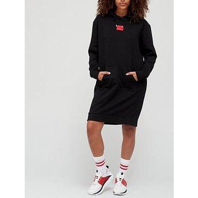 Hugo Red Label Hoodie Dress - Black