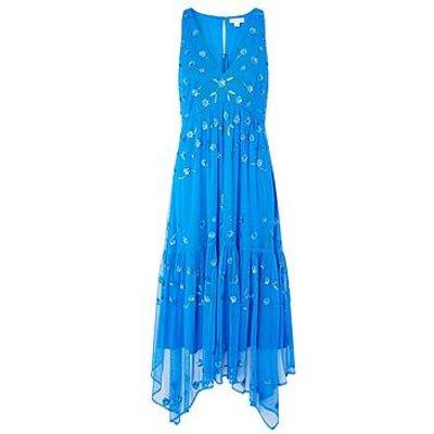 Monsoon Monsoon Carmela Sustainable Emb Midi Dress