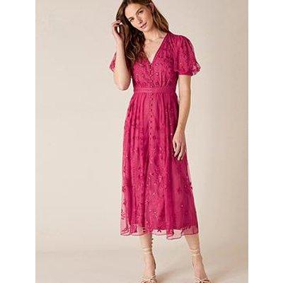 Monsoon Valerie Embellished Tea Dress