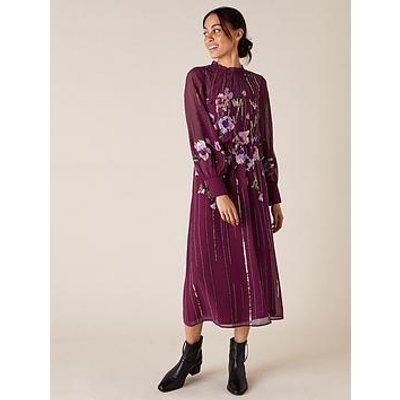 Monsoon Monsoon Renata Emb Sustainable Maxi Dress