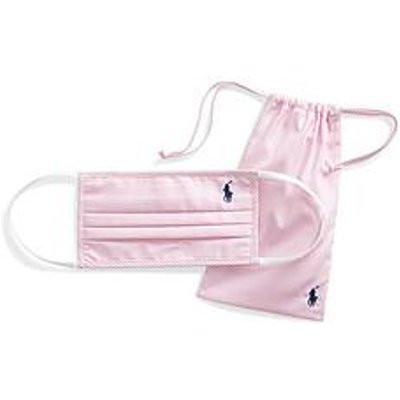 Polo Ralph Lauren Face Covering - Pink/White