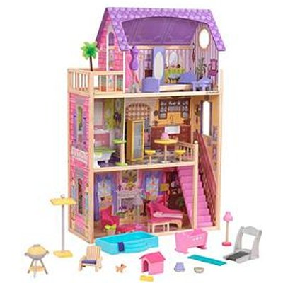 Kidkraft Patio & Pool Dollhouse Set