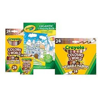 Crayola Colours Of The World Mega Bundle