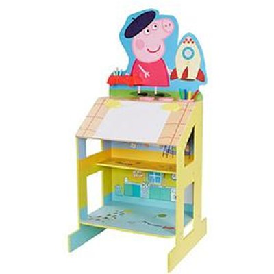 Peppa Pig Play And Draw Wooden Easel