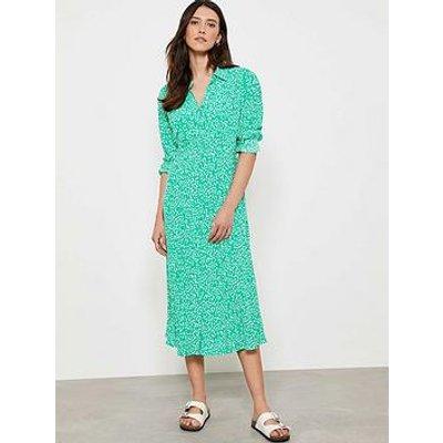 Mint Velvet Mint Velvet Verity Spot Midi Shirt Dress