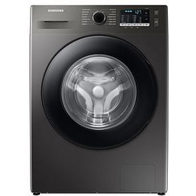 Samsung Series 5 Ww90Ta046Ax/Eu With Ecobubble&Trade; 9Kg Washing Machine, 1400Rpm, A Rated - Graphite