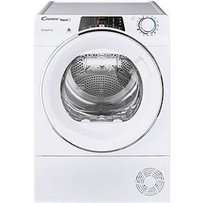 Candy Rapido Roe H9A2Tce 9Kg Load Heat Pump Tumble Dryer - White