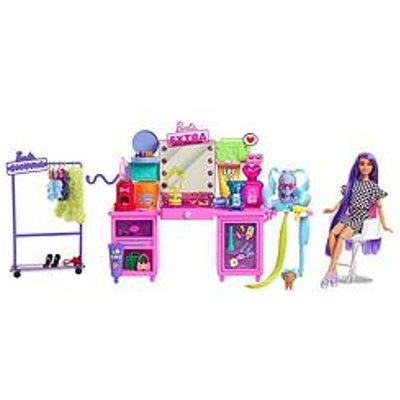 Barbie Extra Vanity Playset And Doll