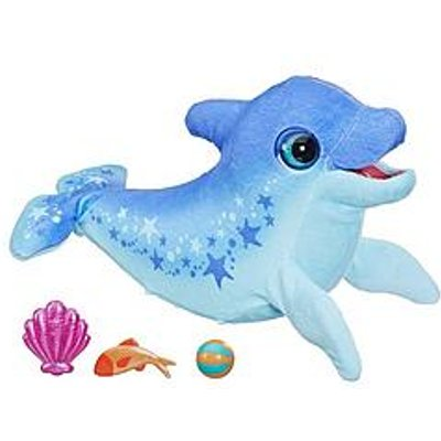 Furreal Friends Furreal Dazzlin' Dimples My Playful Dolphin, 80+ Sounds And Reactions, Interactive Toy Electronic Pet, Ages 4 And Up