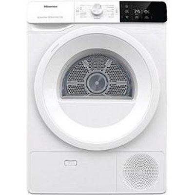 Hisense Hisense Dhge901 9Kg Heat Pump Tumble Dryer - White