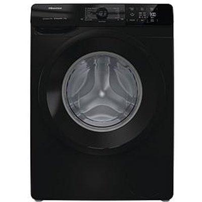 Hisense Wfge90141Vmb 9Kg Load, 1400 Rpm Spin Washing Machine - Black