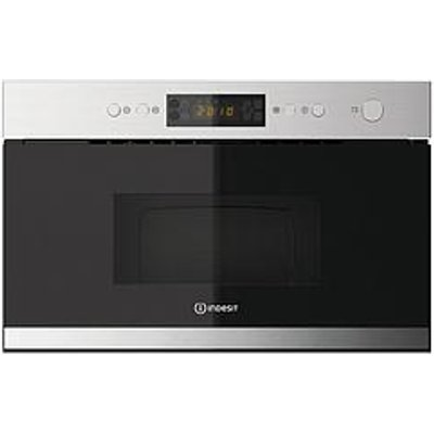 Indesit Mwi3213Ix 60Cm Built-In Microwave With Grill - Stainless Steel - Microwave Only