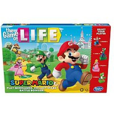 Hasbro The Game Of Life: Super Mario Edition Board Game For Children Aged 8 And Up