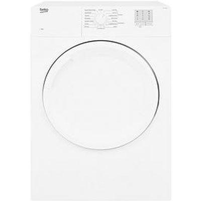 Beko Dtgv8000W 8Kg Vented Tumble Dryer, White