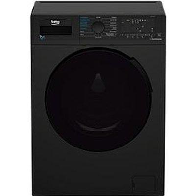 Beko Wdl742431B 7Kg Wash, 4Kg Dry, 1200Spin Washer Dryer, Black