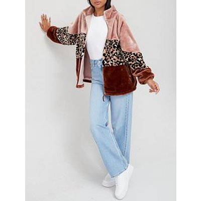 Ugg Elaina Faux Fur Jacket - Leopard
