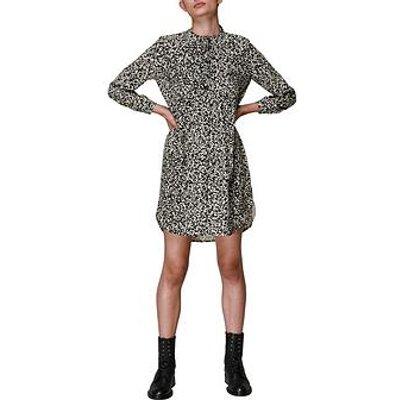 Whistles Abstract Fleck Print Sack Dress