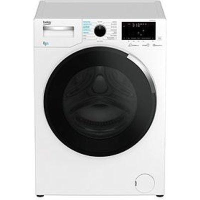 Beko Wdey854P44Qw 8Kg Wash, 5Kg Dry, 1400 Spin Washer Dryer - White