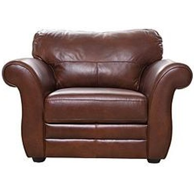 Vantage Italian Leather Armchair