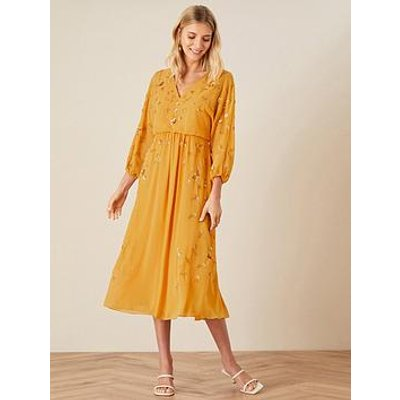 Monsoon Monsoon Danni Sustainable Embellished Dress