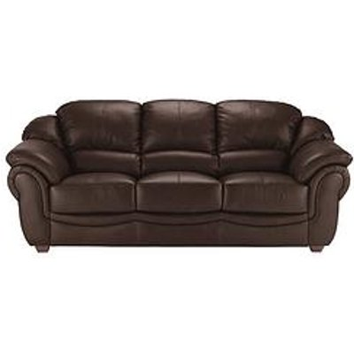 Napoli 3-Seater Leather Sofa