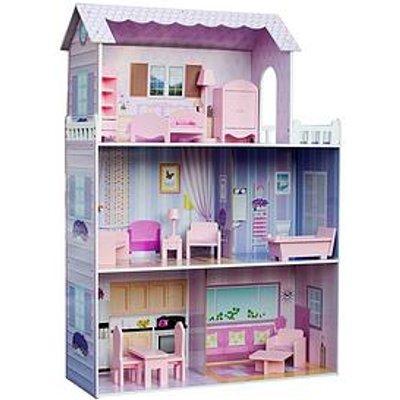 "Teamson Kids Olivia'S Little World - Dreamland Tiffany 12"" Doll House -""Pink"