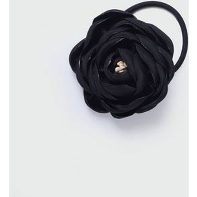 Black Corsage Hair Band New Look