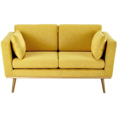 2-Seater Sofa in Yellow