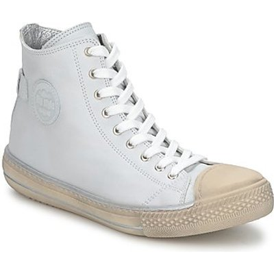 Hip  LOUGO  boys's Children's Shoes (High-top Trainers) in White