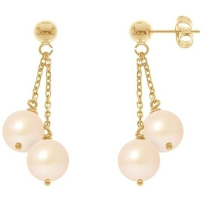 Blue Pearls  BPS K394 W  women's Earrings in Multicolour