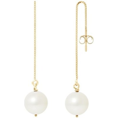 Blue Pearls  BPS K395 W  women's Earrings in Multicolour