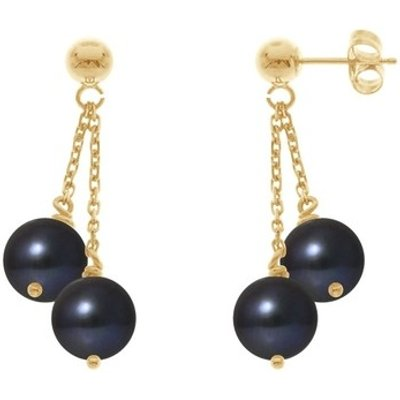 Blue Pearls  BPS K393 W  women's Earrings in Multicolour