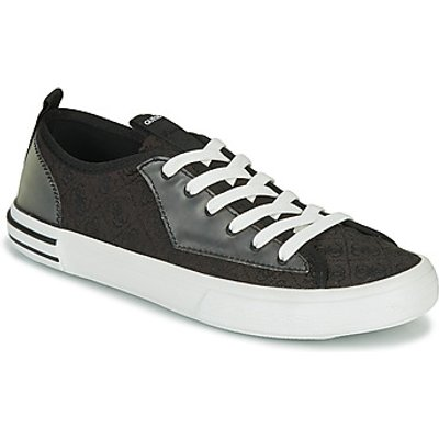 Guess  NETTUNO LOW  men s Shoes  Trainers  in Black  Sizes available 6 5 7 5 8 9 9 5 10 5 - 7618584688106