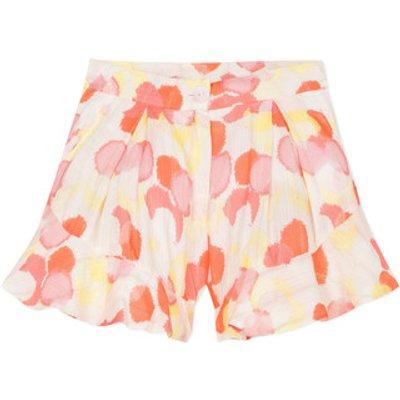 Lili Gaufrette  LORIA  girls's Children's shorts in Multicolour