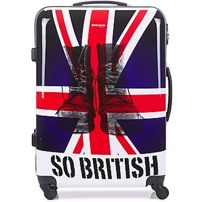 David Jones  UNION JACK L  women s Hard Suitcase in Multicolour - 3563778818262
