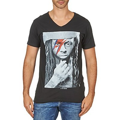 Eleven Paris  KAWAY M MEN  men's T shirt in Black