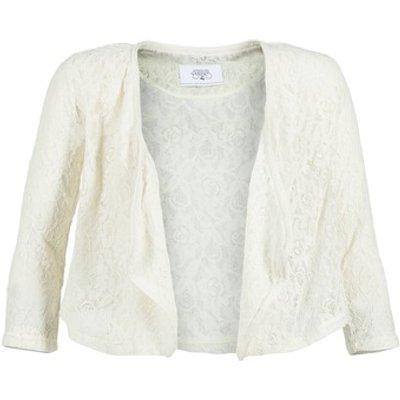 Le Temps des Cerises  ILONA  women's Jacket in White