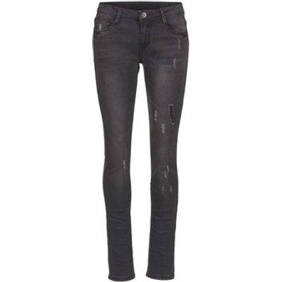Yurban  IETOULETTE  women's Skinny Jeans in Black