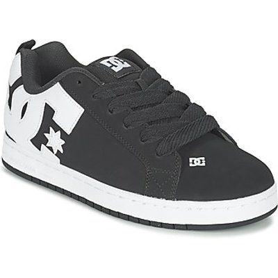 DC Shoes  COURT GRAFFIK  men's Skate Shoes (Trainers) in Black