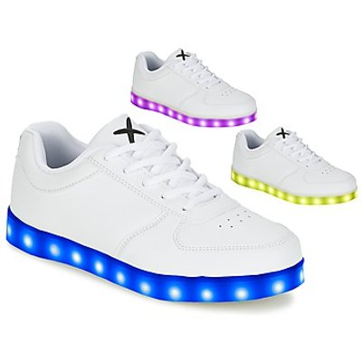 Wize   Ope  THE LIGHT  men's Shoes (Trainers) in White