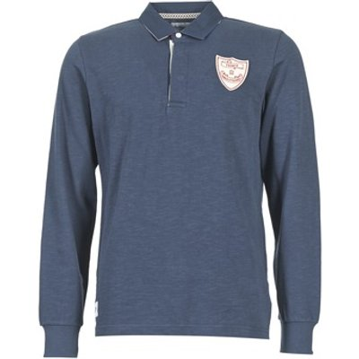 Serge Blanco  CRUNCH  men's Polo shirt in Blue