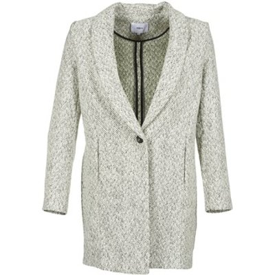 Suncoo  ELOI  women's Coat in Grey